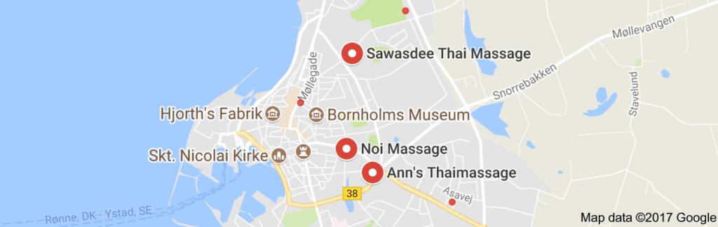 Thai massage bornholm